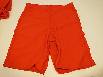 Game Gear NS111 compression shorts sliding 1 pair athletic sports S red NOS NWT