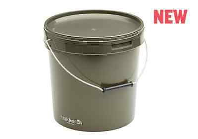 Trakker Carp Fishing NEW 10 Litre Olive Bucket