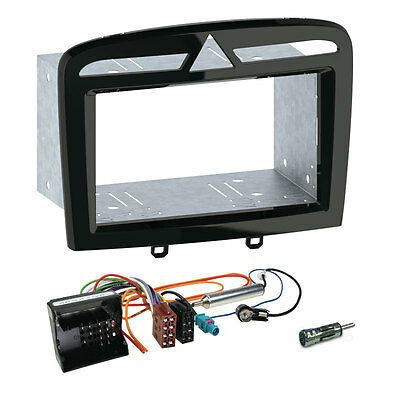 Peugeot RCZ from 10 2 DIN Car Radio Installation Set Cable,Adapter,