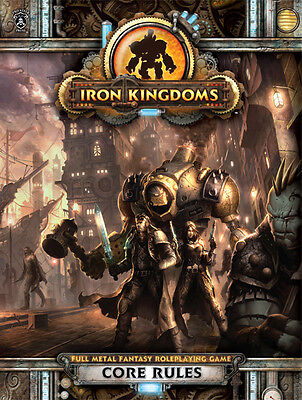 Iron Kingdoms Full Metal Fantasy RPG: Core Rulebook PIP 405