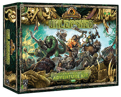 Iron Kingdoms Full Metal Fantasy RPG Unleashed: Adventure Kit PIP 417