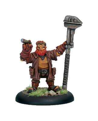 Iron Kingdoms: Gamack Redhammer, Dwarven Mechanik PIP 81028