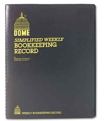 Home Based & Small Weekly Business Bookkeeping Cash Record System Dome 600
