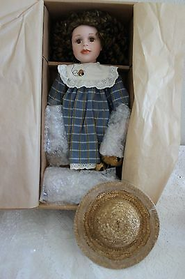 """The Boyds Collection Yesterdays Child Doll """"nicole"""" Porcelain Doll, Nib"""