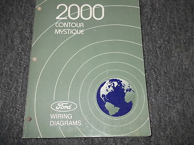 2000 Ford Contour & Mercury Mystique  Electrical Wiring Diagram Manual EWD