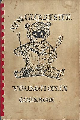 New Gloucester Me 1950 Antique Congregational Church Cook Book *local Ads *maine