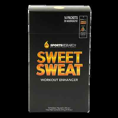 Sweet Sweat Workout Enhancer - Body Cream 14 Packungen