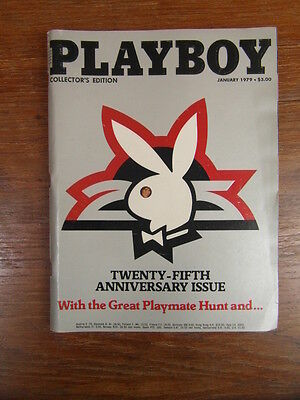 Revue Vintage PLAYBOY MAGAZINE US Collector's Edition January 1979  BE GC