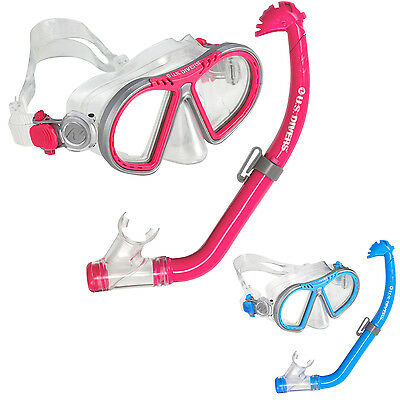 U.s. Us Divers Toucan Kids Childrens Junior 2-Piece Mask & Snorkel Set 2 Colours