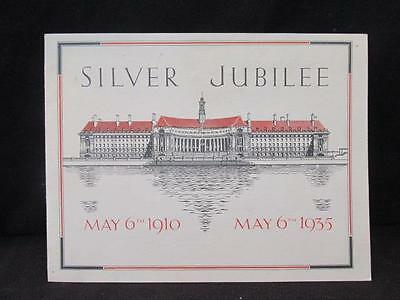 May 1910-1935 Silver Jubilee Message George V & Mary to London Children