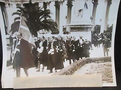 Knights of Malta Call on the Pope 1930s Press Release B&W  Photo