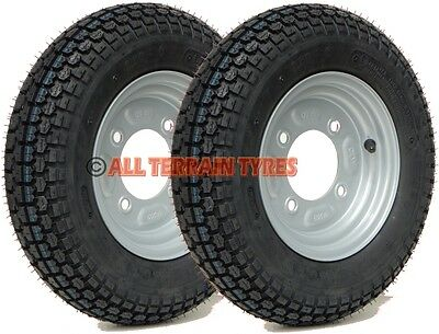 "3.50-8 350x8 Erde Daxara Maypole 8"" Trailer Tyres & Wheels 115mm PCD 350 8"
