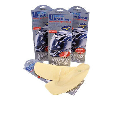 Oxford Ultra Clear Anti-Fog Motorcycle Visor Insert