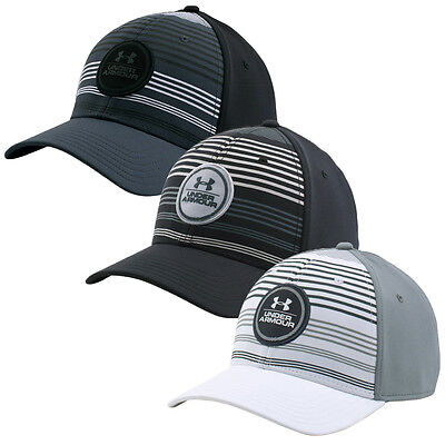 Under Armour 2016 Mens Stripes LC Baseball Cap Stretch Fit Summer Hat