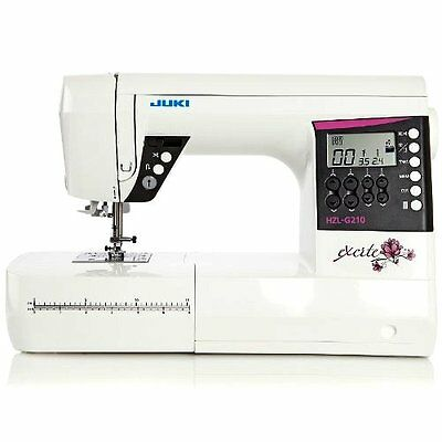 Juki Excite HZL-G210 Computerized Portable Home Sewing Machine- Free 100 Needles