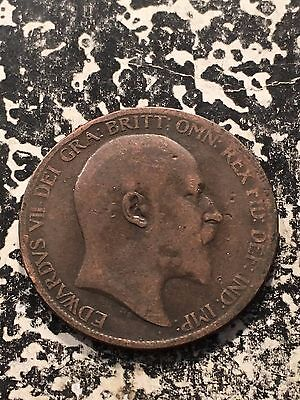 1904 Great Britain 1 Penny Lot#3054