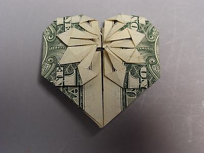 Hawaiian Money Dollar Origami Fold Heart Gift 695 Picclick