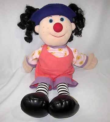 The Big Comfy Couch  Loonette Doll Plush Soft Play Toy
