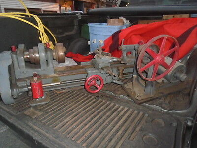 "MACHINIST TOOLS  LATHE Machinist South Bend 9"" 42"" Long Metal Lathe"