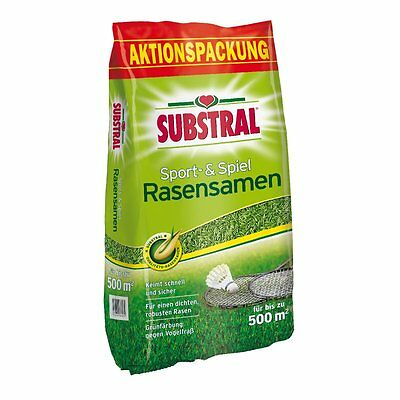 SUBSTRAL Lawn Seed Sport and Game - 10 Kg - Lawn Seeds Lawn Seed Sports Lawn