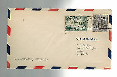 1929 Perth to Adelaide Australia FFC First Flight Cover