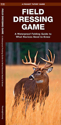 Freshwater Fishing Hunting Food Emergency Survival Guide Bug Out Bag Kit Book