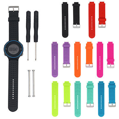 Replacement Wrist Watch Band Strap Silicone for Garmin Forerunner 230 235 630