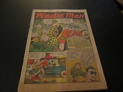 Police Comics #102 Rare Golden Age Comic Coverless But Complete!