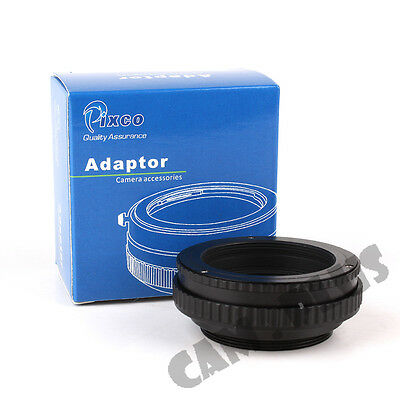 12mm to 19mm M42 Mount Lens Adjustable Focusing Helicoid Macro Tube Adapter