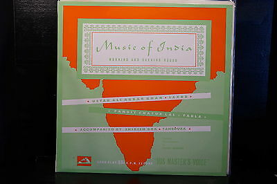 Ali Akbar Khan/Pandit Chatur Lal ‎– Music Of India, Morning And Evening Ragas