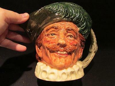 "The Cavalier Vintage Royal Doulton Large 6"" Character Toby Mug 14 on bottom"
