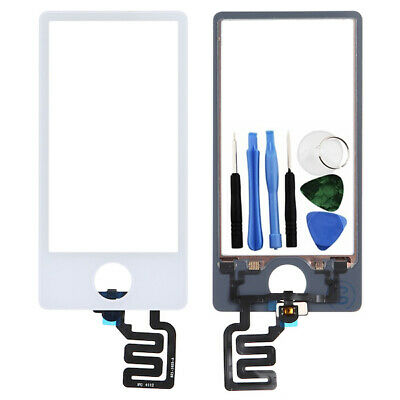 White LCD Touch Screen Digitizer Assembly Replacement For iPod Nano 7 7th Gen