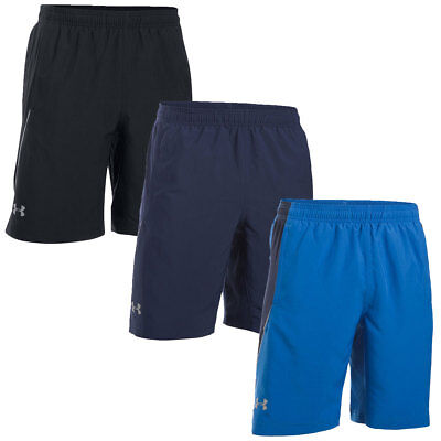 """Under Armour 2016 Mens UA Launch 9"""" Solid Shorts Running Gym Training"""