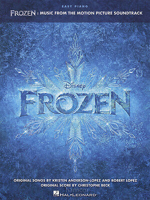 Frozen Easy Piano Sheet Music Book Disney Motion Picture Movie Film Soundtrack
