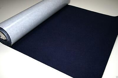 Self Adhesive Felt Baize Fabric Mini Rolls - NAVY