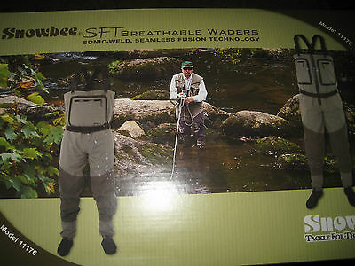 Snowbee SFT Breathable Stocking Foot Chest Waders All Sizes