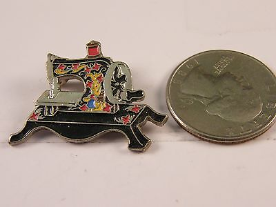 Clotilde Toy 1910 Sewing Machine Pin