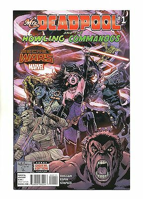 Mrs Deadpool and the Howling Commandos Vol 1 No 1 Aug 2015 (NM)Secret Wars,1prnt