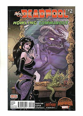 Mrs Deadpool and the Howling Commandos Vol 1 No 2 Sep 2015 (NM)Secret Wars,1prnt
