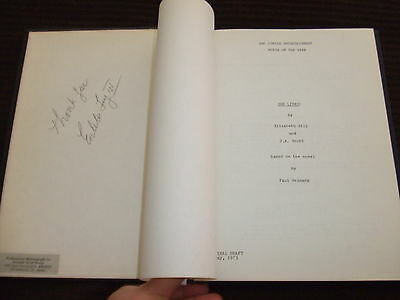 RARE 1973 She Lives Movie Script Cast Desi Arnaz Jr ABC SIGNED HC Bound FOY III