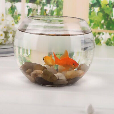 Centerpiece Transparent Glass Bowl Clear Sphere Vase Fish Tank Water Jar