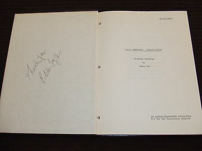 RARE 1976 Louis Armstrong Chicago Style TV Script Cast SIGNED HC Bound FOY III