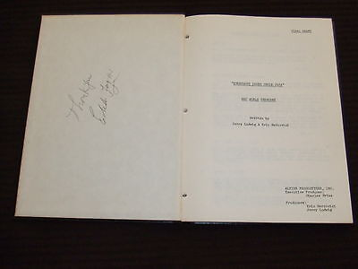 RARE 1974 Strange Homecoming PILOT Script Cast Rob Culp SIGNED HC Bound FOY III