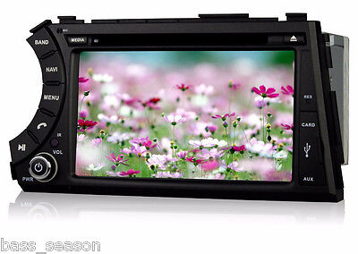 SsangYong Actyon Sports Car DVD With GPS Navigation System 3G BT IPOD TV Radio