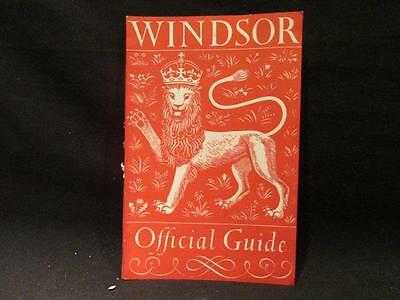 Windsor Official 1952 Guide 48 pages B&W Illustrations