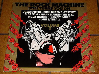 Various - The Rock Machine / Still Turns You On Volume I & Ii - 2 Lp Near Mint!!