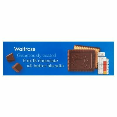 Continental Milk Chocolate Butter Biscuits Waitrose 125g