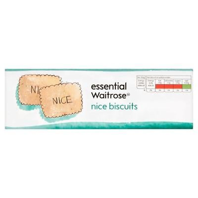 Nice Biscuits essential Waitrose 250g