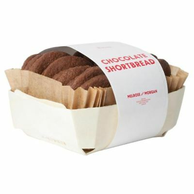 Melrose & Morgan Chocolate Shortbread Biscuits 175g