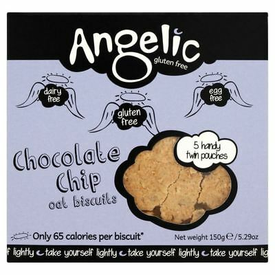 Angelic Gluten Free Chocolate Chip Oat Biscuits 150g